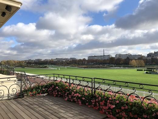 Auteuil racecourse - terrace