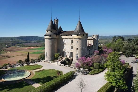 Mercuès castle - exterior