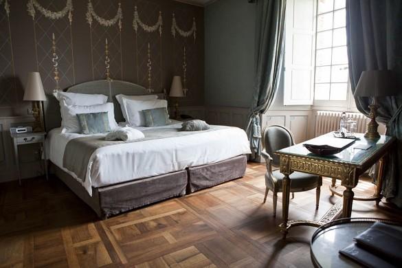 Mercuès castle - room
