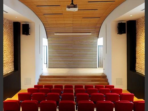 Espacio de humanidades - vista general del anfiteatro