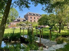Le Moulin Fouret - Il mulino e il suo parco