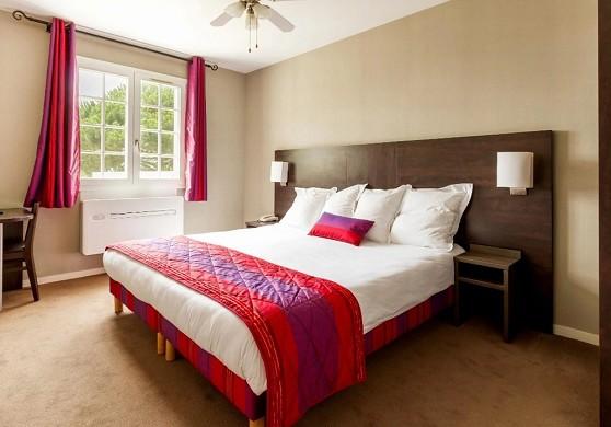 Hotel des châteaux - habitación