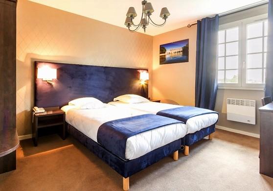 Hotel des châteaux - habitación doble