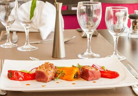 Hotel des châteaux - restaurant