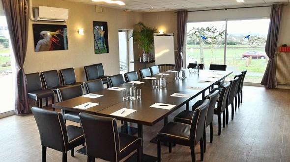 Hotel des châteaux - sala de reuniones