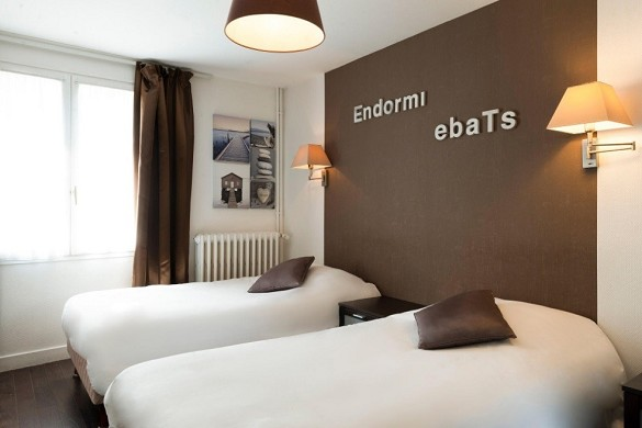 The originals city, hotel le cheval rouge tours ouest - double room