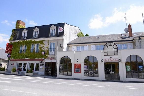 The originals city, hotel le cheval rouge tours west - exterior