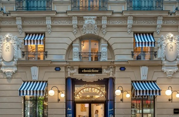 Chouchou hotel - reception