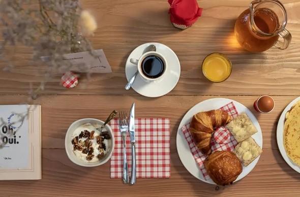 Chouchou hotel - breakfast