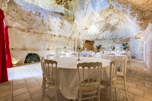 The fairy rock cave - room for private hire