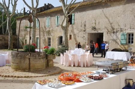 Cortile di Chateau de Clary
