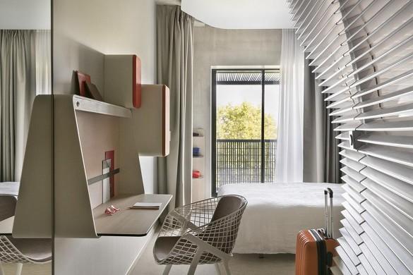 Okko hotel strasbourg - habitación