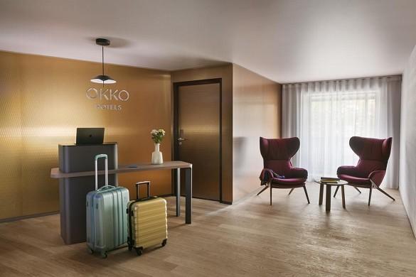 Okko hotel strasburgo - reception