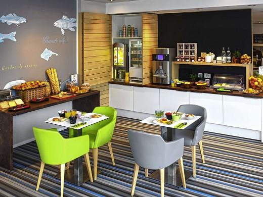 Ibis styles strasbourg avenue du rhin - breakfast room