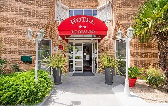 Hotel le rialto - recepción del hotel