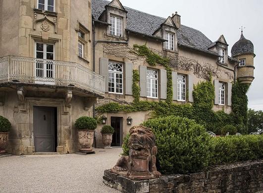 Labro castle - facade