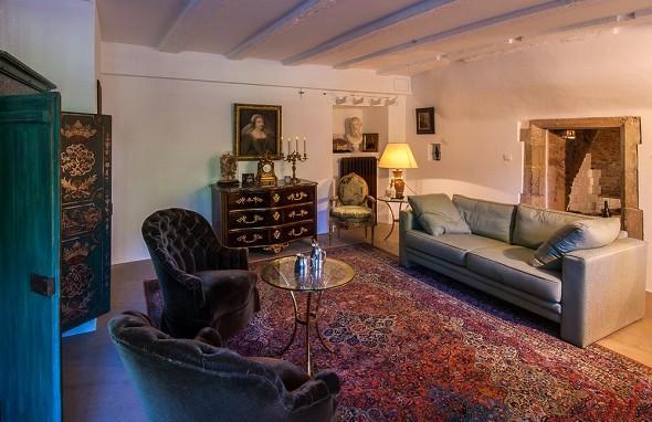 Labro castle - interior
