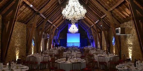Château de labro - reception room