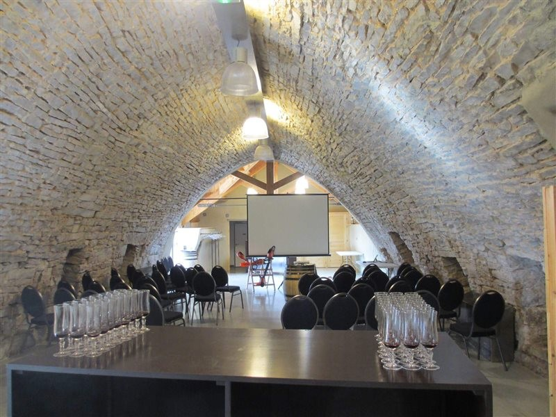 Reception room - Le Jas du Camper