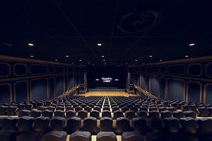 Salon lully. a 500-seat auditorium. a 30m² led screen and exceptional acoustics.