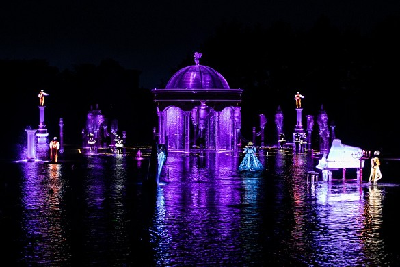 Puy du fou congress - the fiery wedding anniversary, new in 2020: night show.