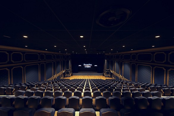 Puy du fou congress - salon lully. a 500-seat auditorium. a 30m² led screen and exceptional acoustics.