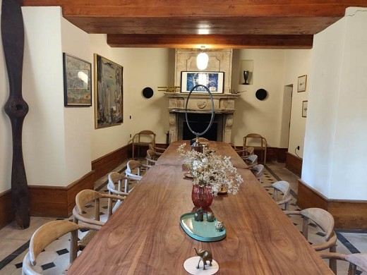 Lyon country house - seminar room that can be privatized