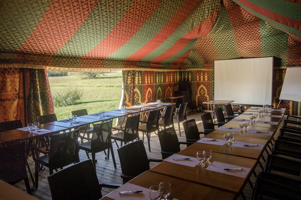 Caidal tent - Domaine Ecôtelia