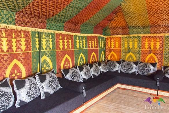 Domaine ecôtelia - Caidal tent