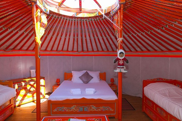Domaine ecôtelia - yurt