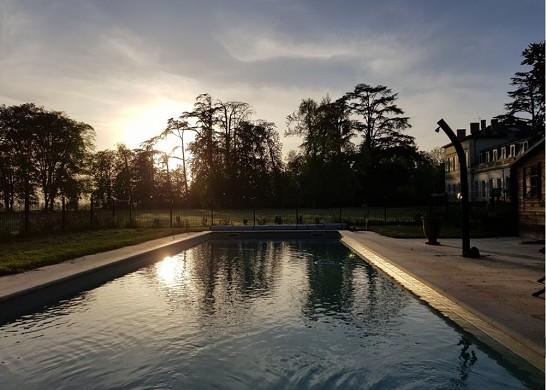 Château saint-denis - piscina