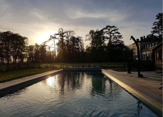 Château saint-denis - swimming pool