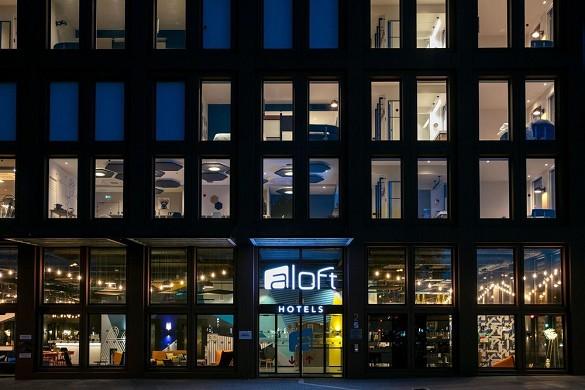 Aloft strabourg etoile - inicio