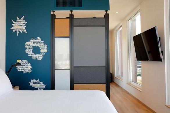 Aloft strabourg etoile - dormitorio