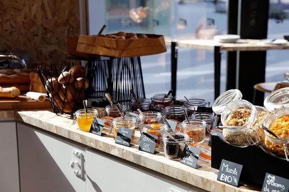 Aloft strabourg etoile - colazione