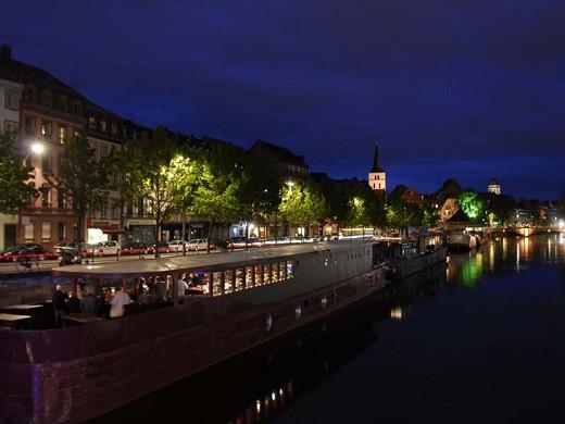 Péniche ill vino - sede del seminario en estrasburgo