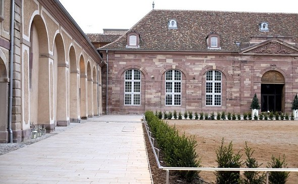 The Strasbourg stud farms - outside
