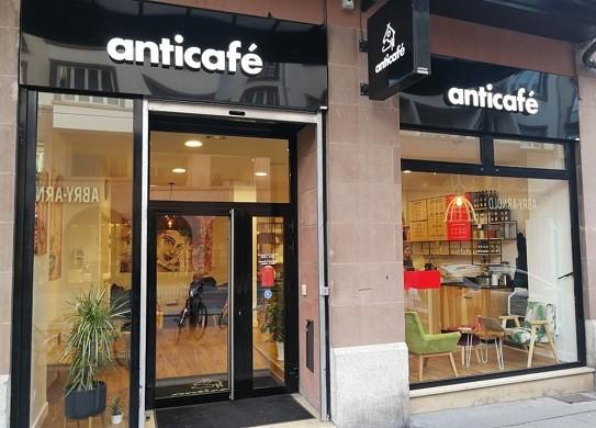 Anticafé Straßburg - außen