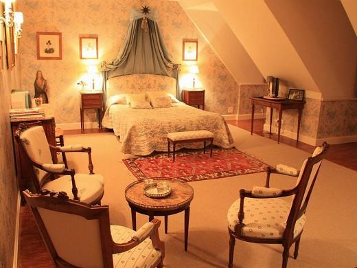 Osthoffen castle - bedroom