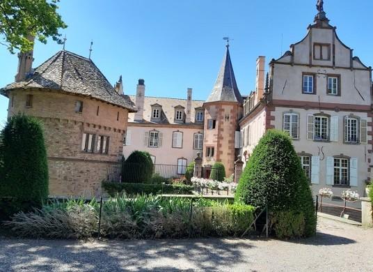 Osthoffen castle - exterior