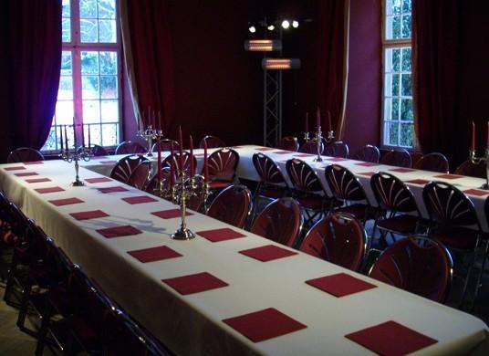 Castillo de Osthoffen - sala de reuniones