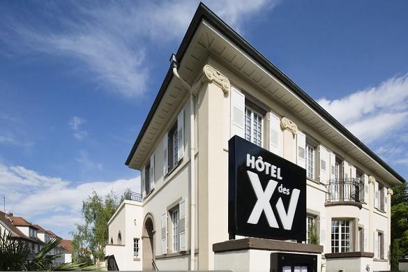 XV. Hotel - außen