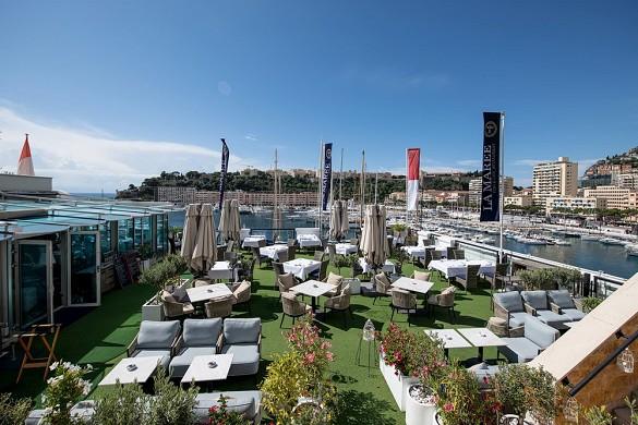 Port palace - terrace