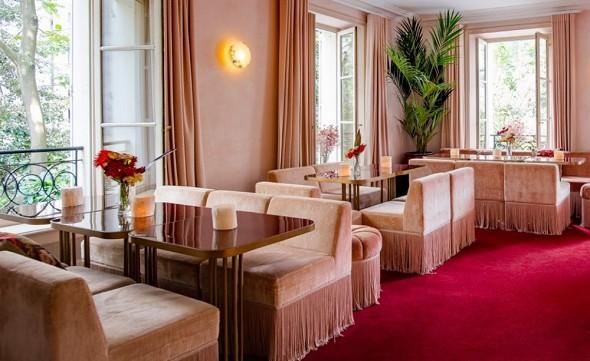Mansión de Montmartre - gran salón