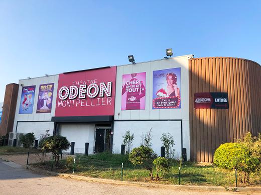 Odeon theater montpellier - exterior