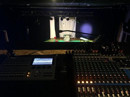 Théâtre odéon montpellier - sound system