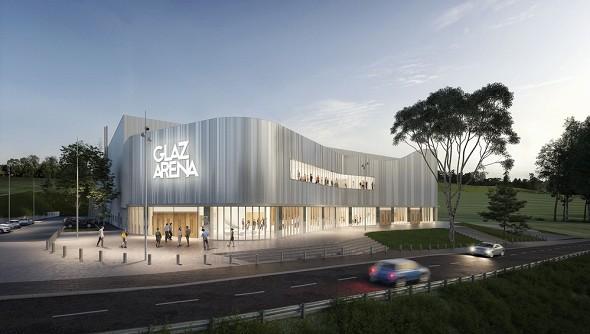 Glaz arena - exterior