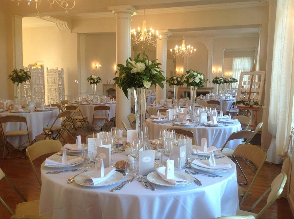 Chateau Vandeléville - reception room