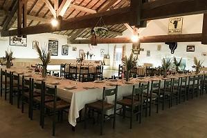 Manade Blanc - Sala de recepción