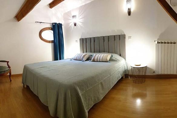 Manade blanc - dormitorio